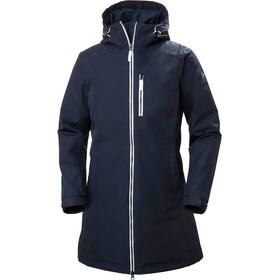 Helly Hansen Long Belfast Winter Jacket Women, niebieski
